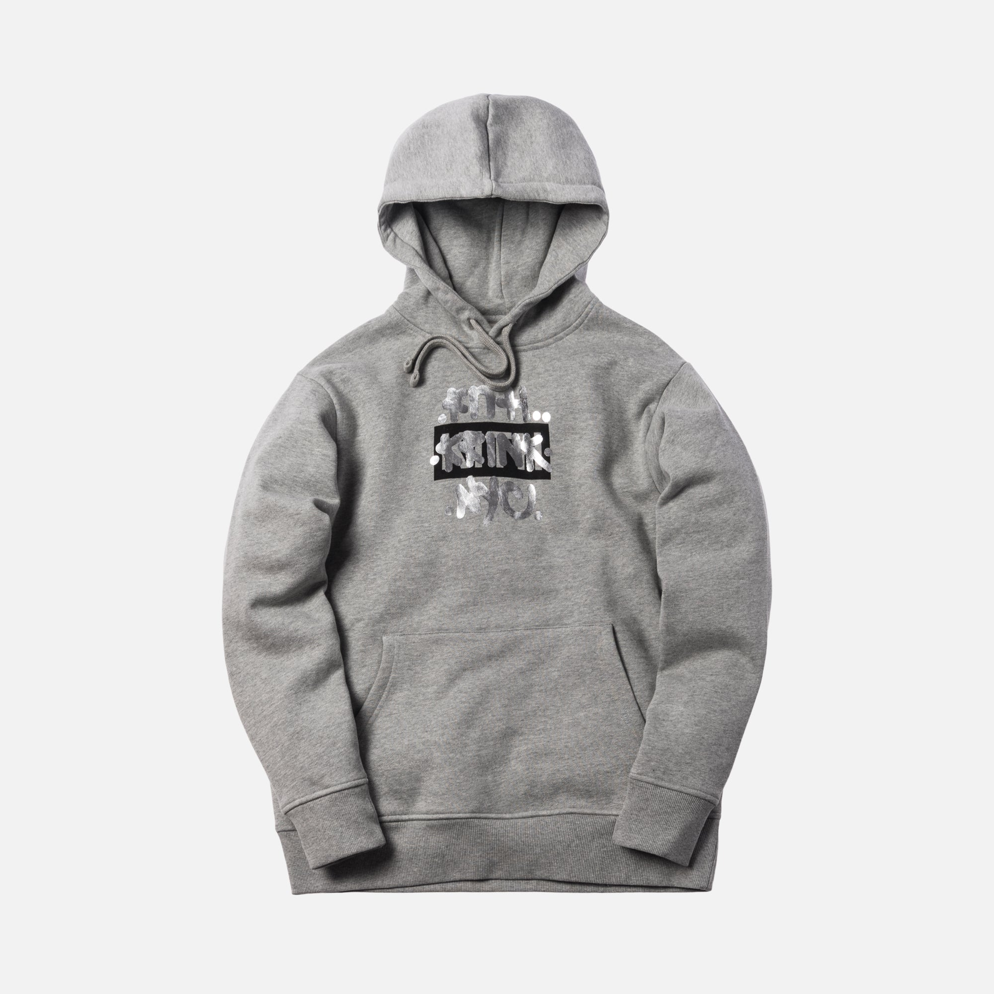 Kith x Krink Hoodie - Heather Grey