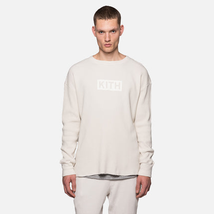 Kith Classics x Calux Waffle Thermal - Natural