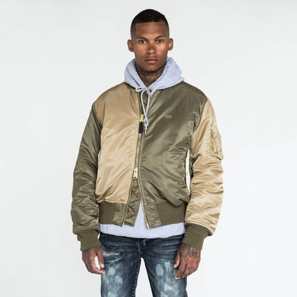 Kith x Alpha Industries MA-1 Bomber - Olive / Coyote / Tan