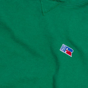 Kith x Russell Athletic Classic Crewneck - Jolly Green