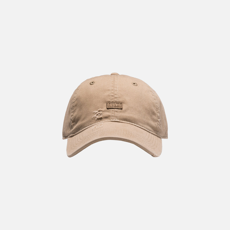 Kith Distressed Riley Cap - Khaki