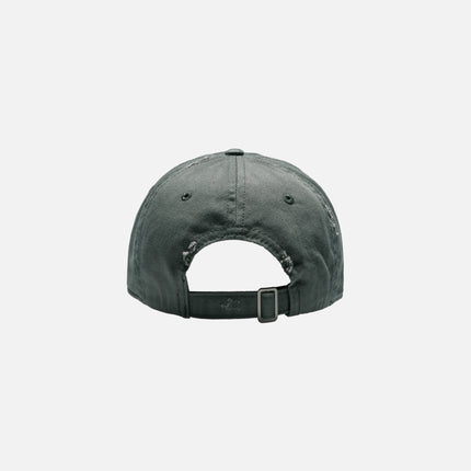 Kith Distressed Riley Cap - Forest Green
