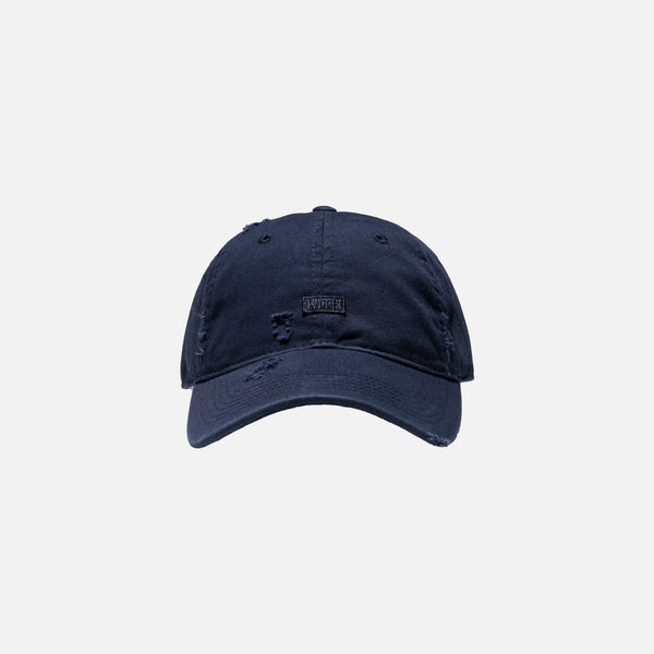 Kith Distressed Riley Cap - Navy