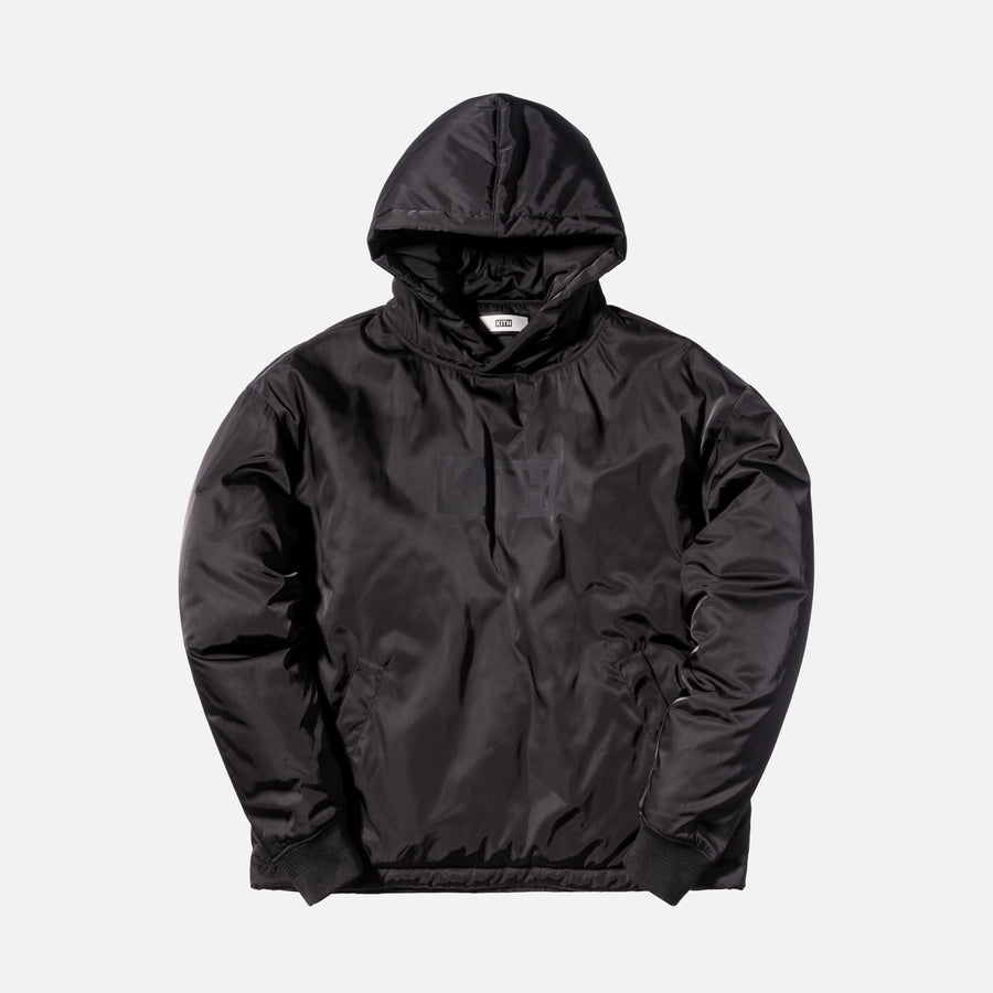 Kith Classics Hooded Astor Pullover - Black