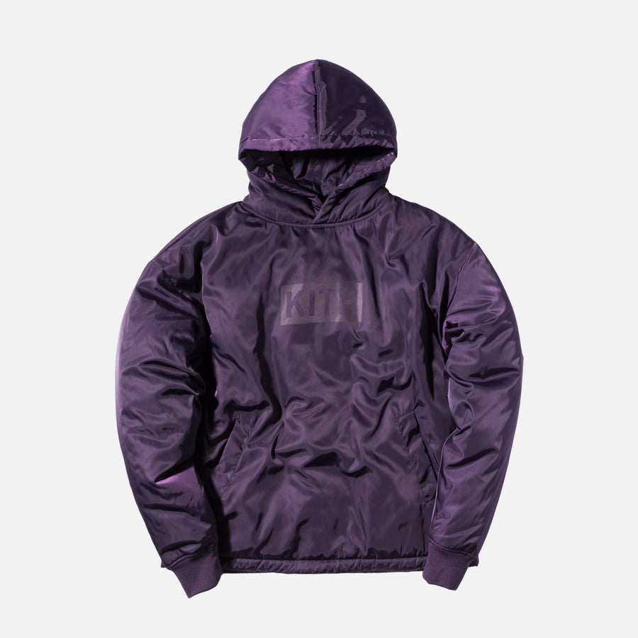 Kith Classics Hooded Astor Pullover - Purple