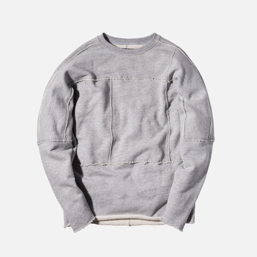 Kith Classics Euclid Crewneck - Heather Grey