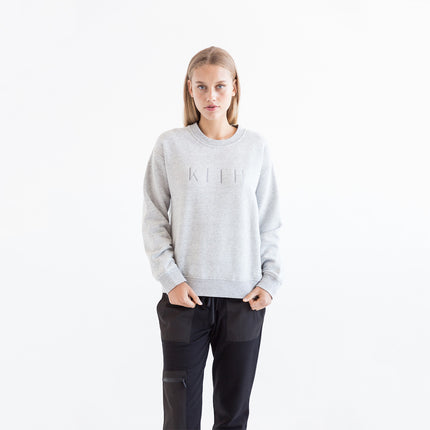 Kith Ava Crewneck - Heather Grey