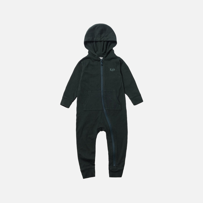 Kith Kids Toddler Swash Logo Coverall - Forest Green