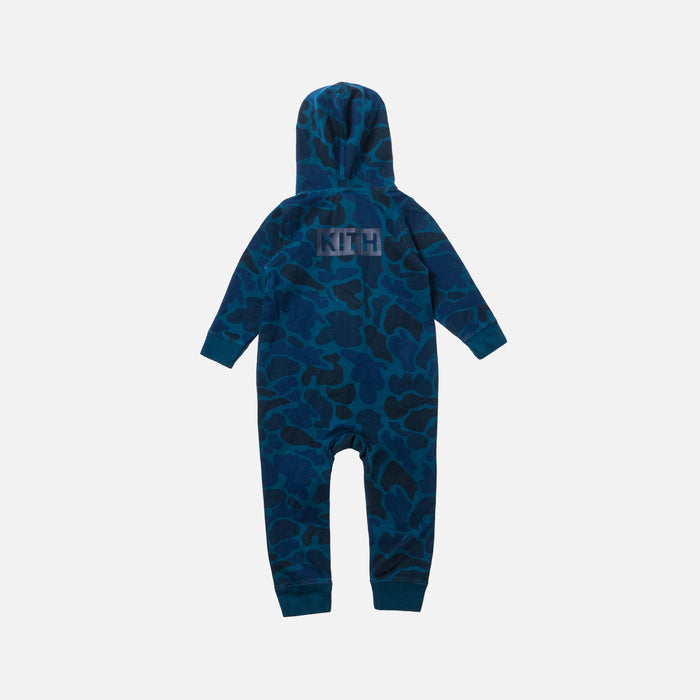 Kith Kids Toddler Classic Logo Coverall - Navy / Multi