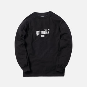 Kith Treats x got milk? L/S Tee - Black