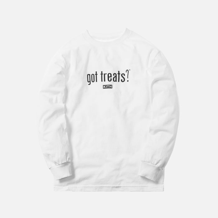 Kith Treats x got milk? Got Treats L/S Tee - White