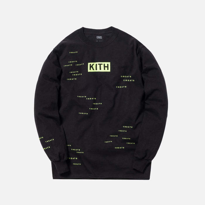 Kith Treats Encrypted L/S Tee - Black