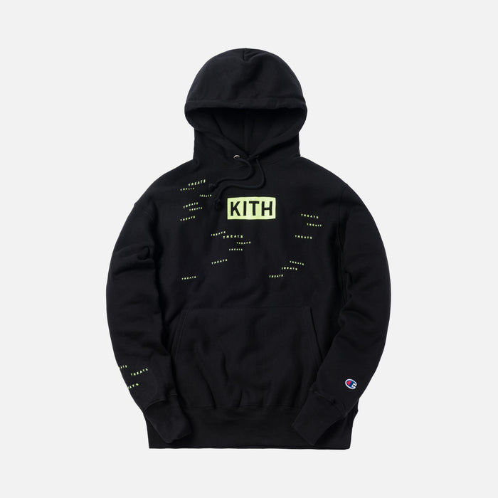 Kith Treats Encrypted Hoodie - Black