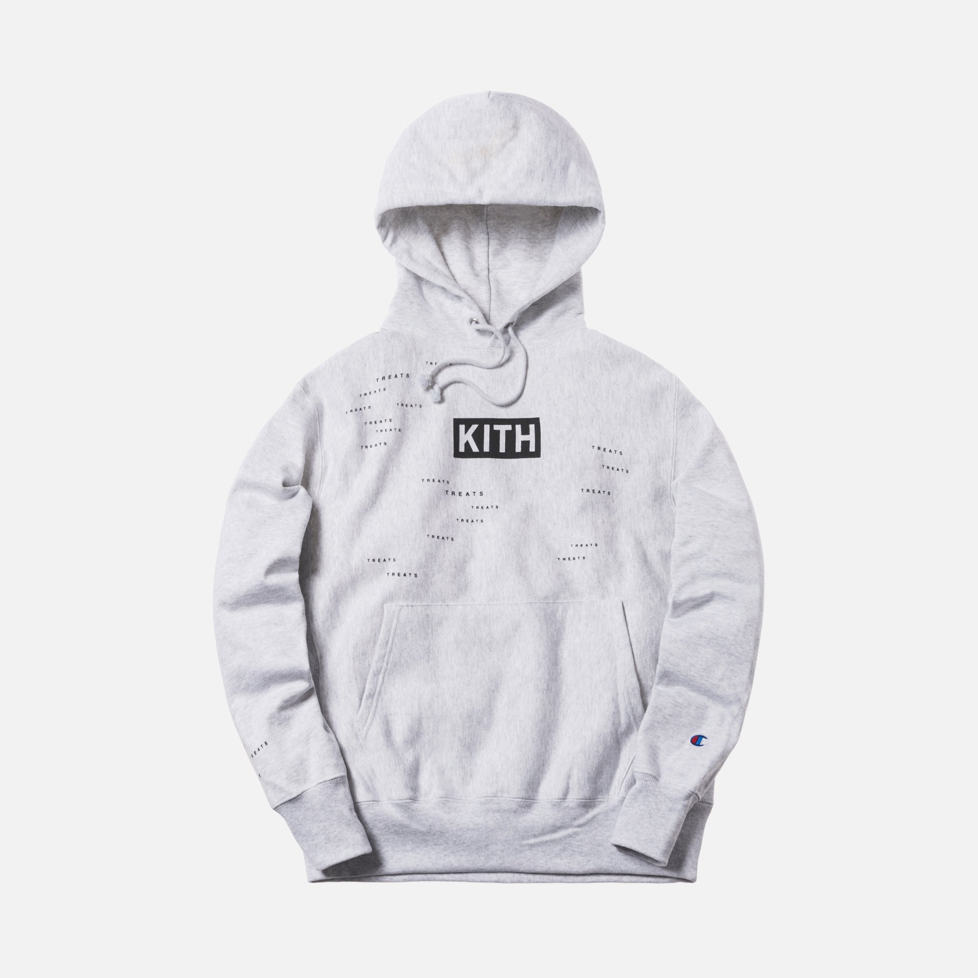 Kith Treats Encrypted Hoodie - Heather Grey