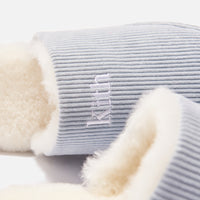 Kith Corduroy Sherpa Slipper - Light Indigo Blue Thumbnail 6