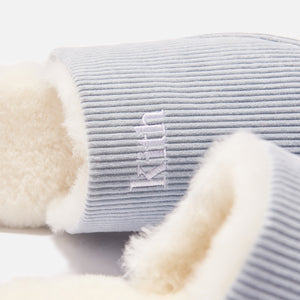 Kith Corduroy Sherpa Slipper - Light Indigo Blue Image 6