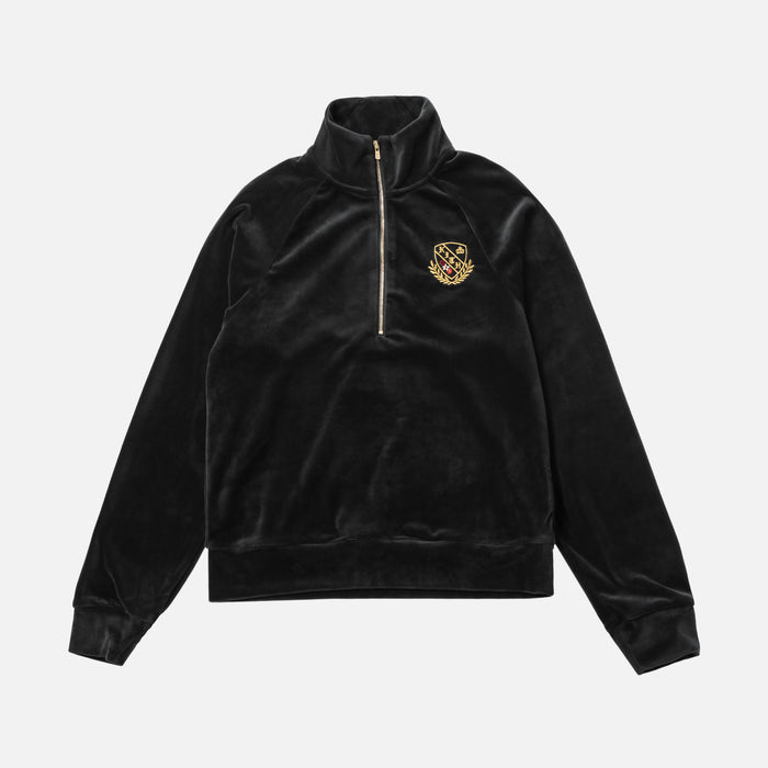 Kith Women Ali Half-Zip - Black