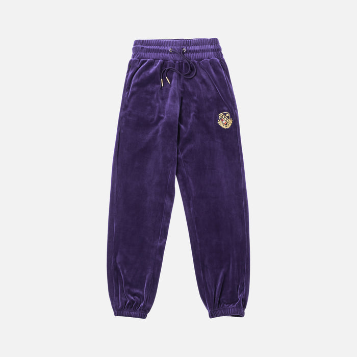 Kith Women Abby Velour Pant - Purple