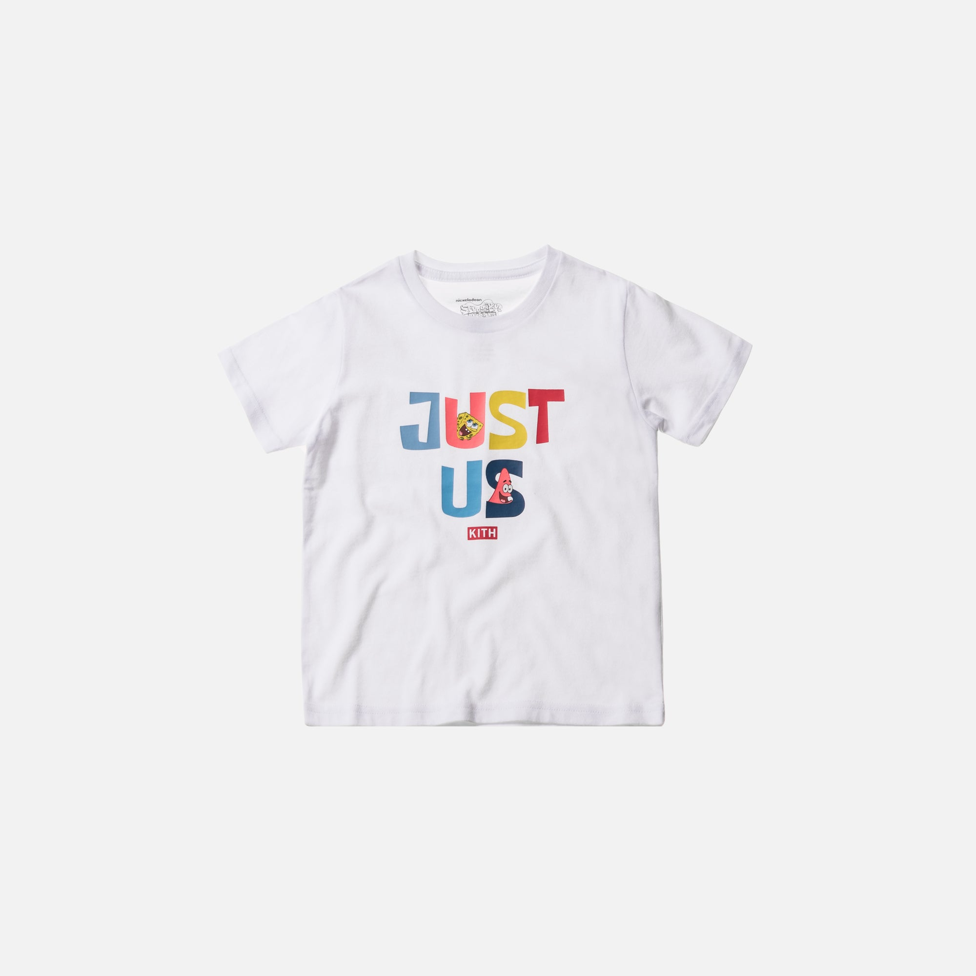 Kith Kids x SpongeBob Just Us Two Tee - White
