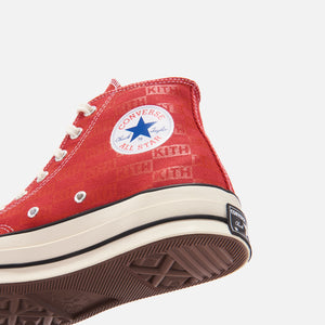 Kith x Converse Chuck Taylor All Star 1970 Classics - Salsa / Egret / Natural Image 9