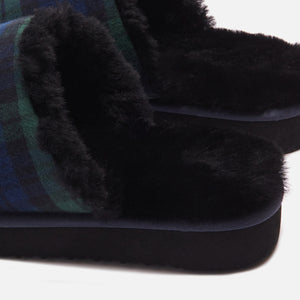 Kith Flannel Sherpa Slipper - Blackwatch Image 11