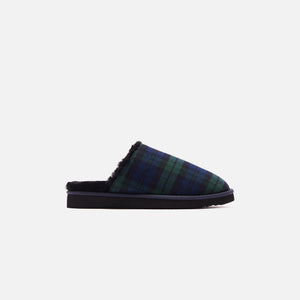 Kith Flannel Sherpa Slipper - Blackwatch
