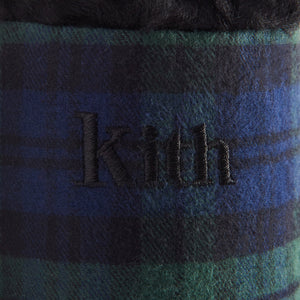 Kith Flannel Sherpa Slipper - Blackwatch Image 12