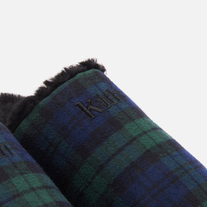 Kith Flannel Sherpa Slipper - Blackwatch Image 10