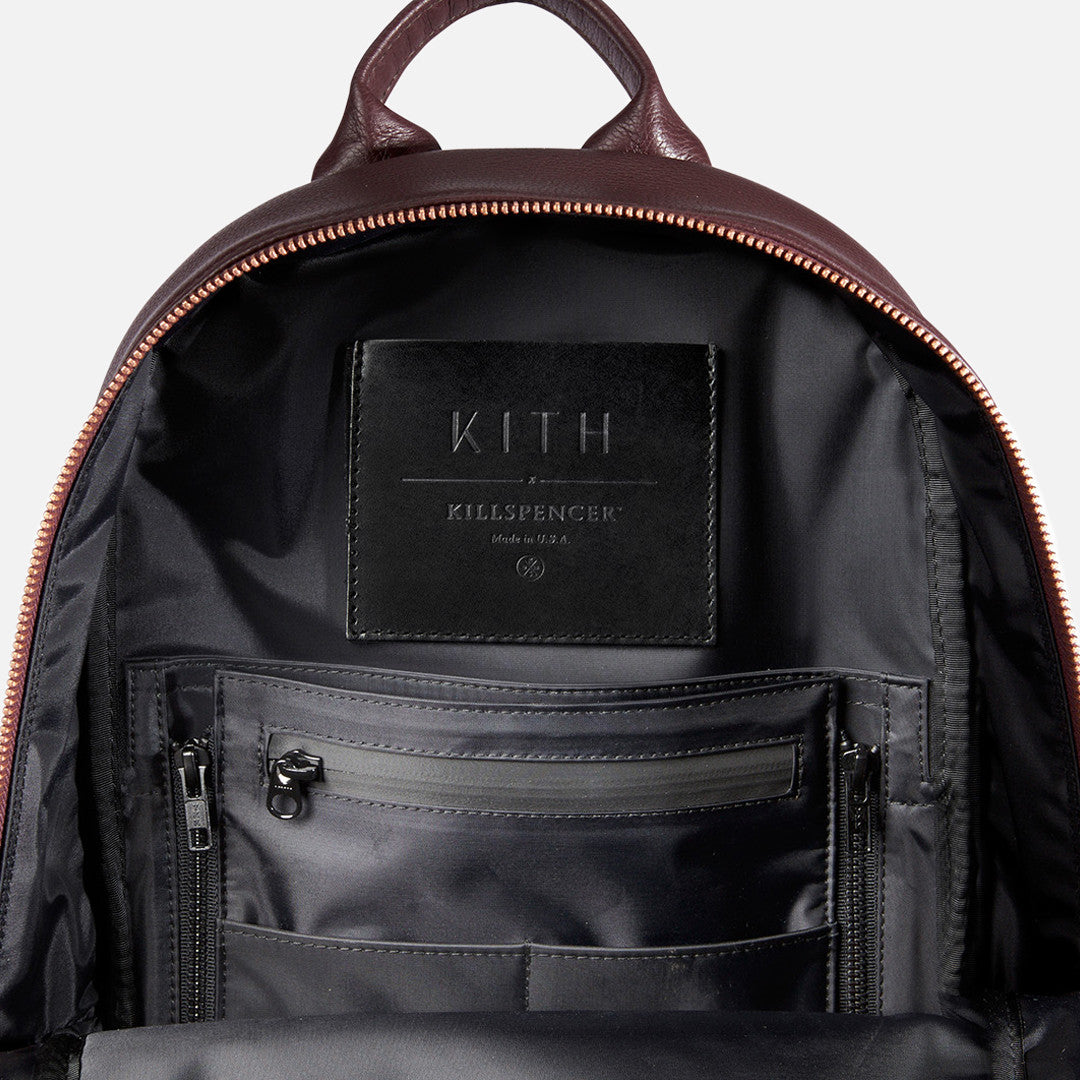 Kith x KILLSPENCER Mini Daypack - Burgundy