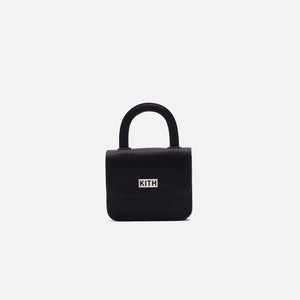 Kith Women x Gelareh Mizrahi Micro Mini Top Handle Bag - Black Image 1