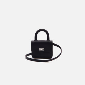 Kith Women x Gelareh Mizrahi Micro Mini Top Handle Bag - Black Image 2
