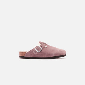 Kith for Birkenstock Boston Shearling - Antler Taupe / Natural