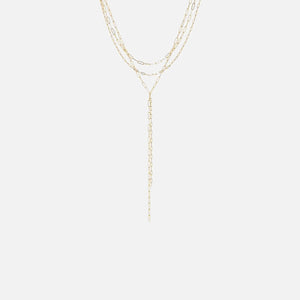 Luv AJ The Maja Lariat Necklace - Gold