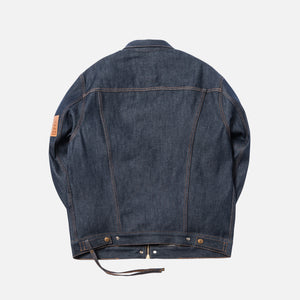 Kith x Levi's Raw Trucker Jacket - Dark Indigo