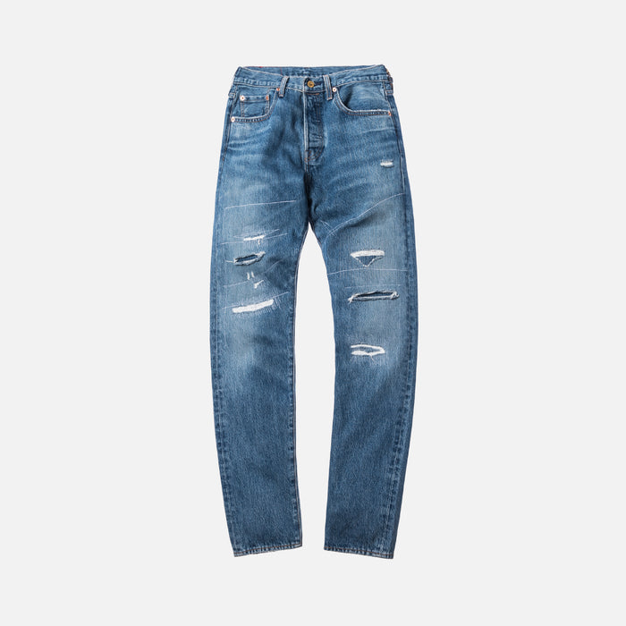 Kith x Levi's Strawberry Fields 501 - Washed Blue