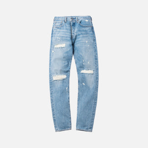 Kith x Levi's Thrashed 501 - Light Blue