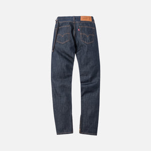 Kith x Levi's Raw 501 Denim - Dark Indigo