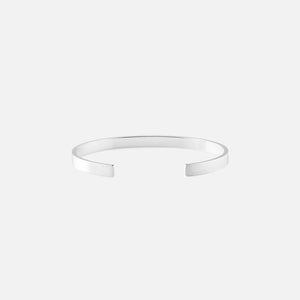 Le Gramme 15g Ribbon Bracelet - Brushed Sterling Silver