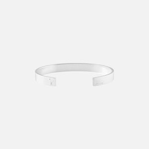 Le Gramme 21g Ribbon Bracelet - Brushed Sterling Silver