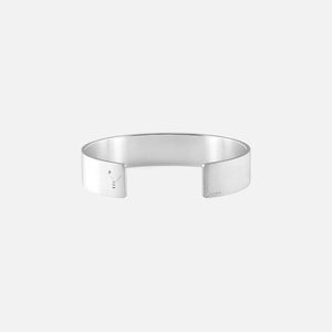 Le Gramme 41g Ribbon Bracelet - Brushed Sterling Silver