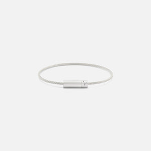 Le Gramme 7g Cable Bracelet - Brushed Sterling Silver
