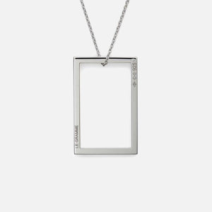 Le Gramme 2.6g Pendant With Chain - Sterling Silver