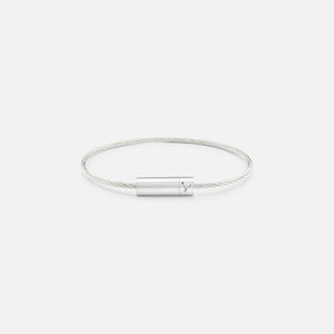 Le Gramme 7g Cable Bracelet - Polished Sterling Silver