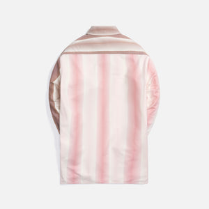 Loewe Oversized Double Pocket Shirt - Pink / Brown