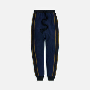 Loewe Fleece Trackpants - Navy / Black