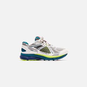 Li-Ning Furious Rider Ace 3 - White / Teal / Lime Green Image 1