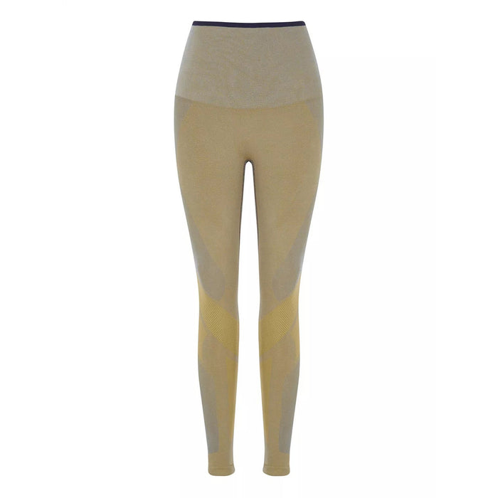 LNDR Motion Leggings in - Mustard/Blue