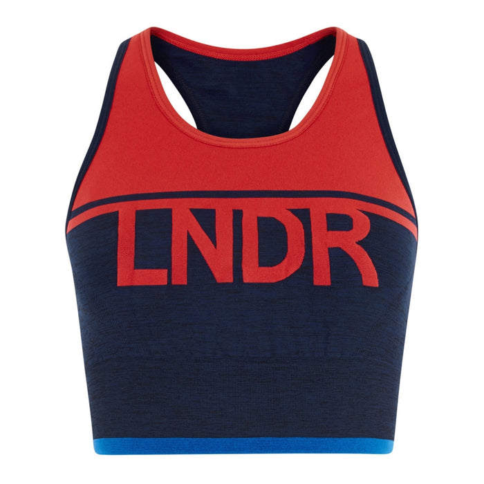 LNDR A-Team Bra - Navy / Red