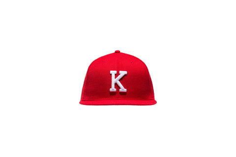 Kith x New Era Fitted Cap - Red