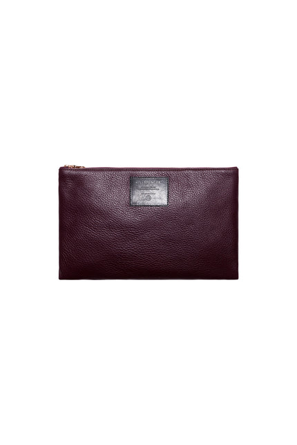 Kith x KILLSPENCER Zippered Pouch - Burgundy